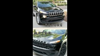 Jeep Cherokee Black Out with Pasti Dip