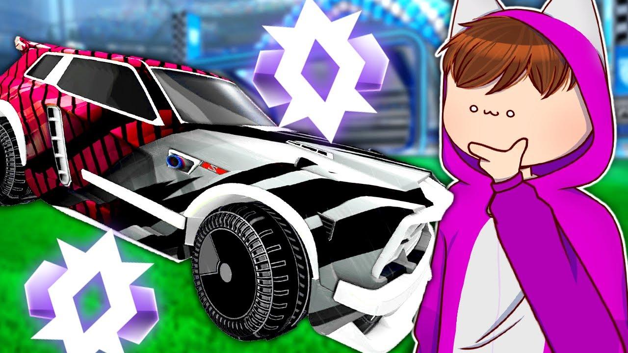 Ich Ranke mein 2v2 Account mit dem Titanweissen Fennec ein! - Rocket League