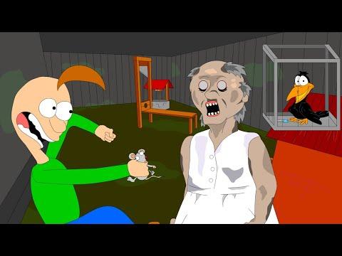 GRANNY THE HORROR GAME ANIMATION #4 Baldi VS Granny (Parody)