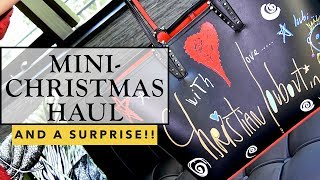A Small Christmas Haul, and a SURPRISE!!!! | Sonal Maherali