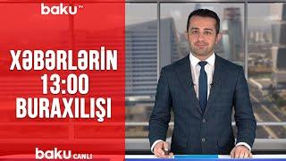 Xəbərlərin - 13.00 buraxılışı (13.03.2020)