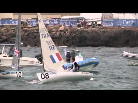 Perth 2011 ISAF Sailing World Championships - Finn - Medal Race