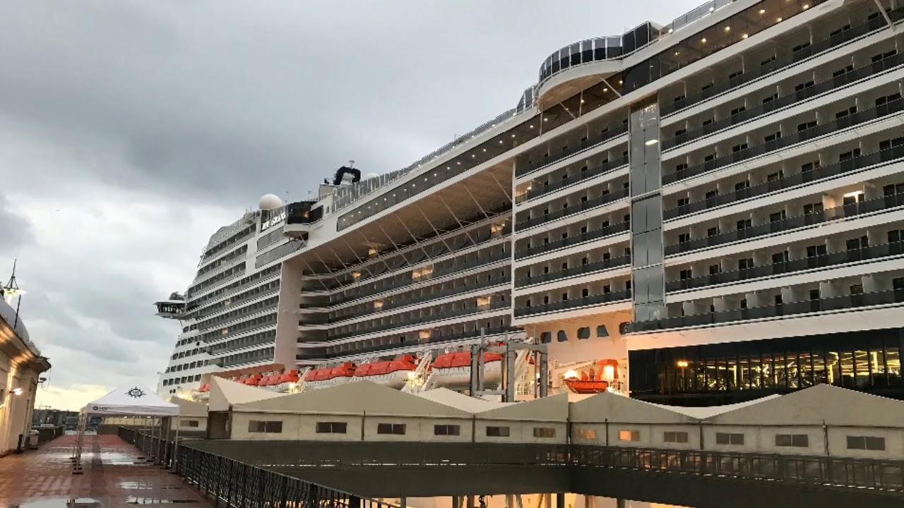 MSC Grandiosa 7 days cruise in Europe. - YouTube