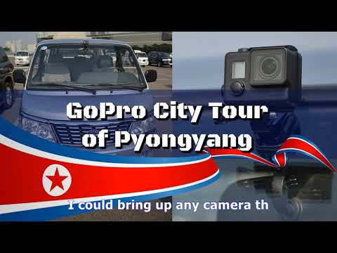 Remarkable 360°aerial footage taken for the first time ever over the city of pyongyang, north korea
