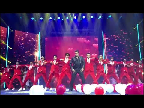 Salman khan || dancing on teri meri prem kahani ||