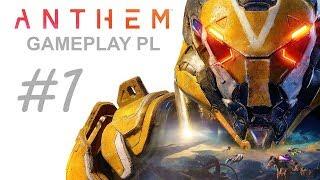 ANTHEM  Gameplay PL #1 _ START  XBOX ONE X