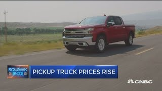Pickup trucks see a price increase thanks to lifestyle buyers