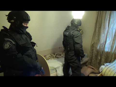 ФСБ опубликовали видео задержания террористов в Твери
