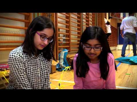 Quirkbot at Stockholm International School
