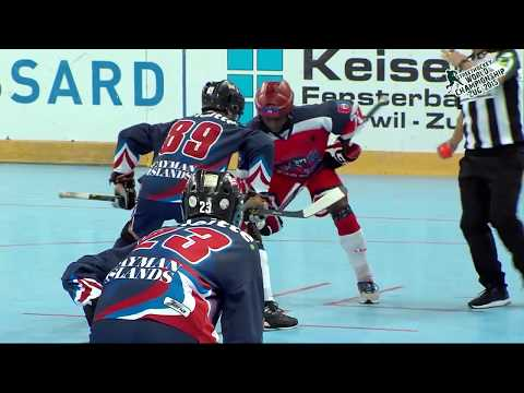 Cayman Islands vs Haiti 2015 World Ball Hockey Championships June 28 2015 in Zug, Switzerland B GOLD