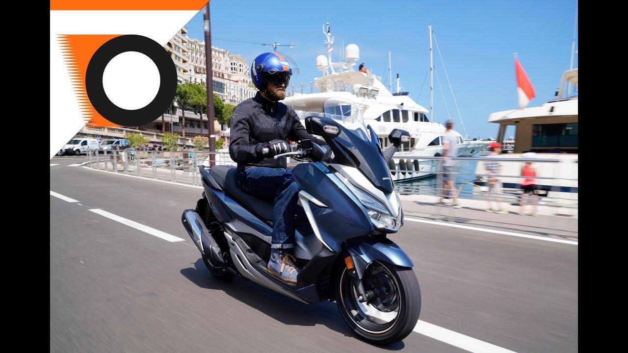 Honda Forza 300 2018 Il Midi Premium Youtube
