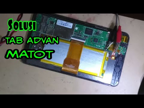How to repair an HP tablet completely dead.
