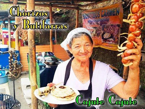 Comprando chorizos y butifarras de Cojutepeque Cuscatlán El Salvador Youtubero Salvadoreño ys