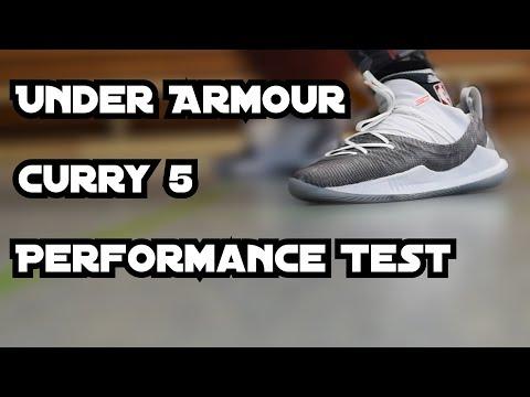 Under Armour Curry 5 - Performance Test - Ein guter Basketballschuh?