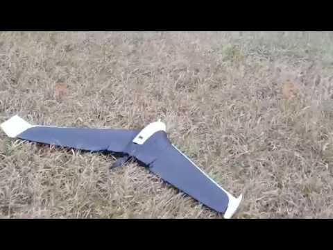 Parrot Disco Pro AG Landing