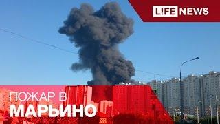 Нефтепровод загорелся на юго-востоке Москвы
