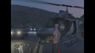How to call in a Helicopter Pick Up in GTA V Online 2018 - Xbox