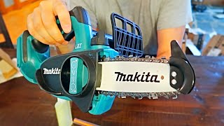 Unboxing Smallest Makita Chainsaw