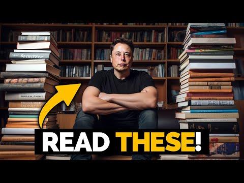 Elon Musk's Top Book Recommendations - #FavoriteBooks
