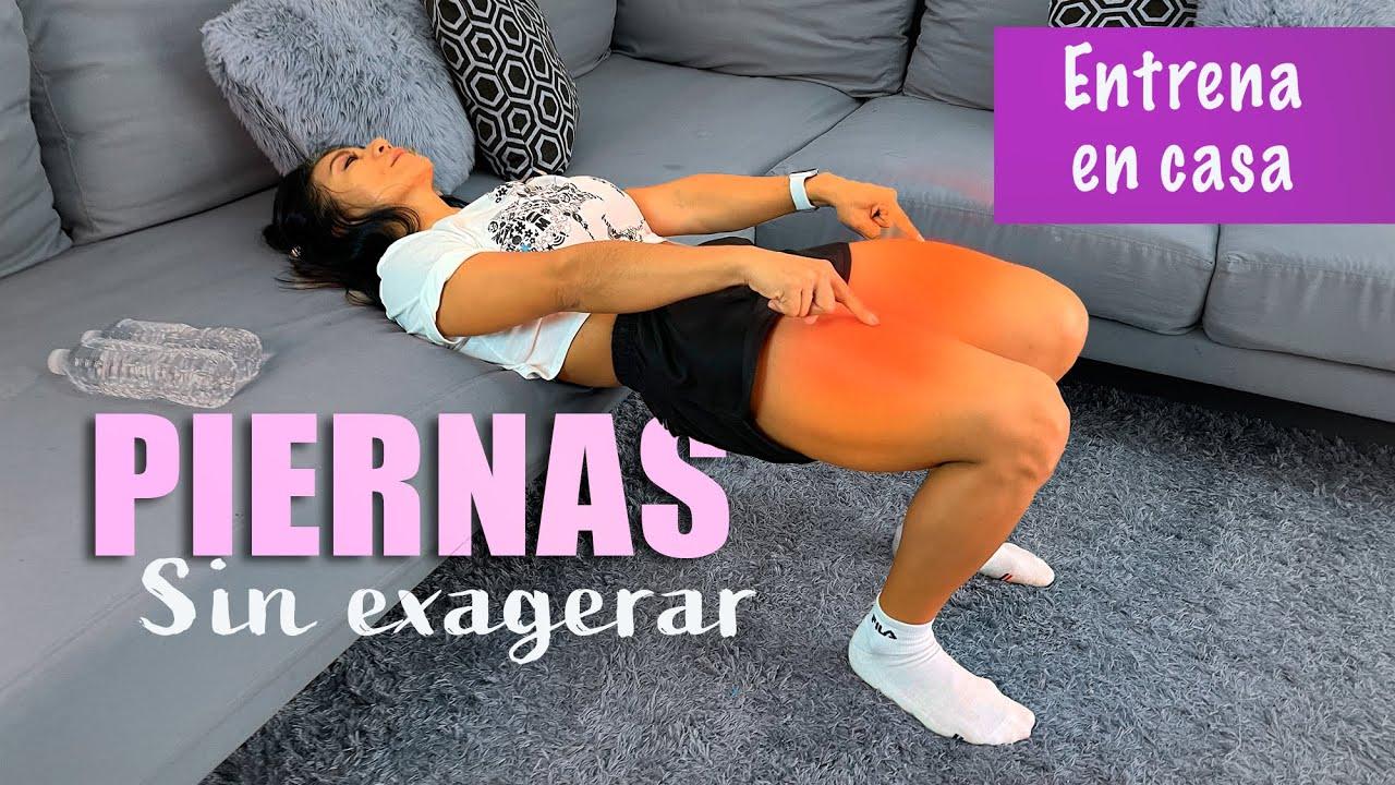 PIERNAS BONITAS SIN EXAGERAR tonifica en minutos - YouTube