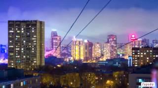 Город, заводы, ночь