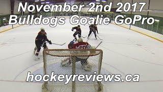 November 2nd 2017 Bulldogs Hockey Goalie GoPro, Team