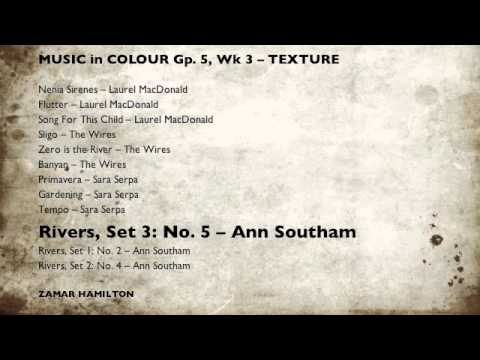 Music in Colour, Gp5 Wk3 - TEXTURE