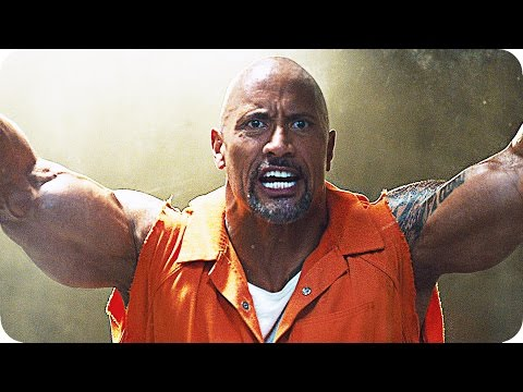 THE FATE OF THE FURIOUS Prison Riot Clip & Trailer (2017) Dwayne Johnson vs. Jason Statham