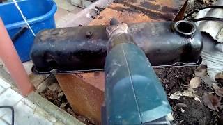 Очистка крышки клапанов газ 24, 402 двигатель.