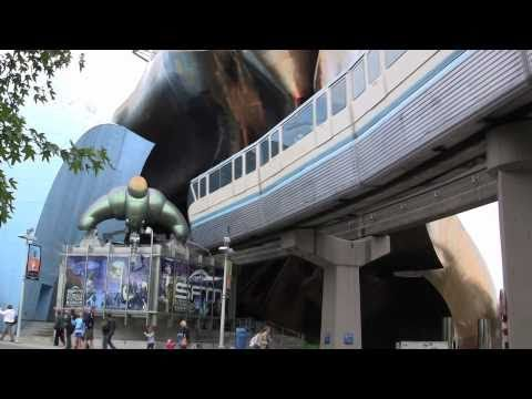 The Seattle Center Monorail Connects