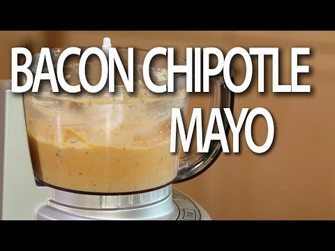 EASY Bacon Chipotle Aioli | Mayonnaise Recipe