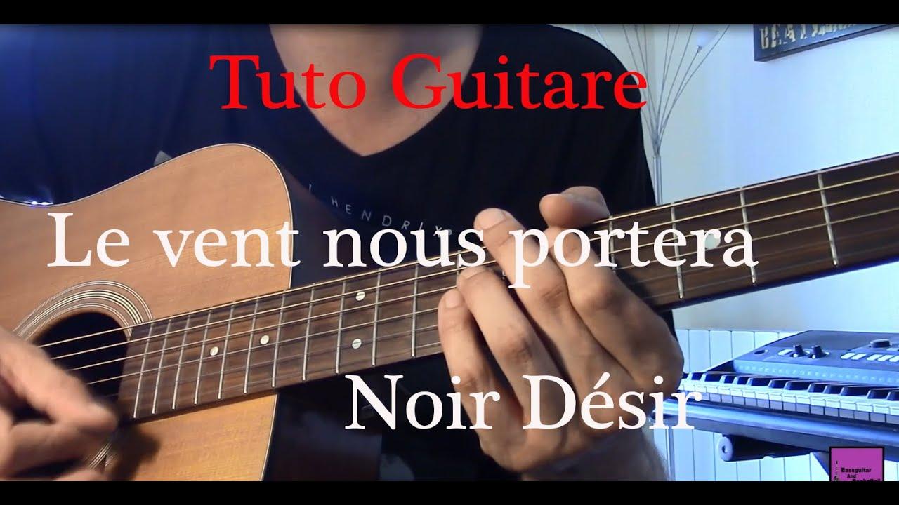 Cours de guitare chanson facile 2 accords le vent nous - Partition guitare le vent nous portera ...