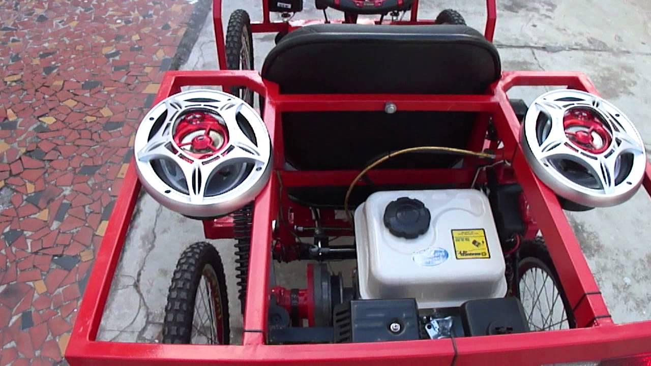 Suficiente Carrinho completo com som e toda parte eletrica de carro - YouTube FF26