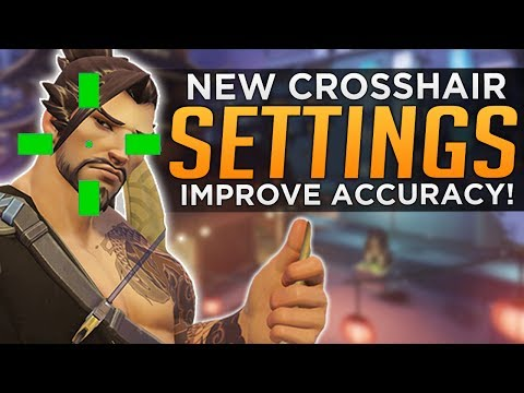 Overwatch: NEW Crosshair Settings! - Improve Accuracy!