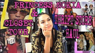 PRINCESS NOKIA CLOSET TOUR AND THRIFT STORE HAUL