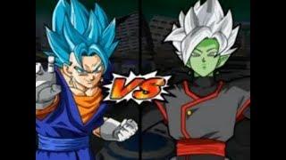 DRAGON BALL Vegito blue vs Zamasu fusion dbt3 mod