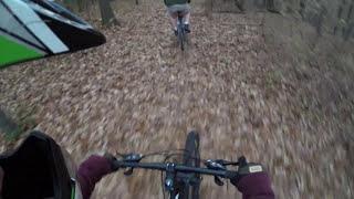 Mountain Biking at Cane Creek Second Run - GoPro
