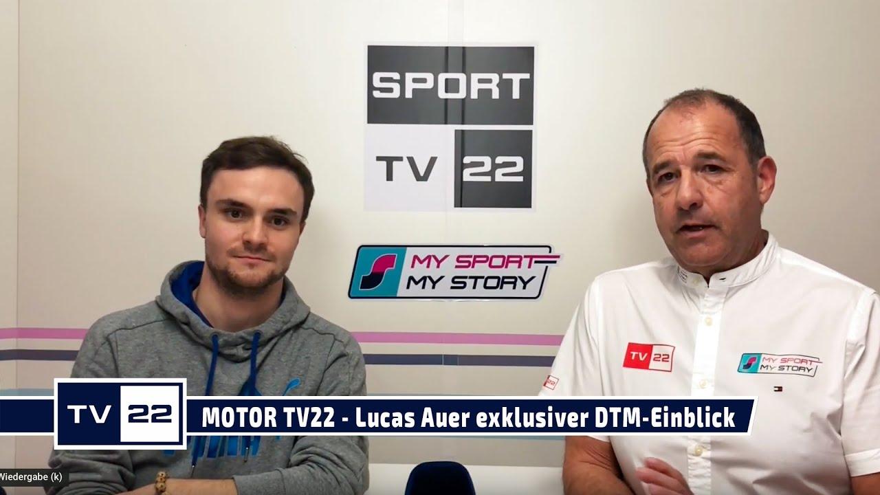 MOTOR TV22: Lucas Auer und sein exklusiver DTM Einblick in die Saison 2020