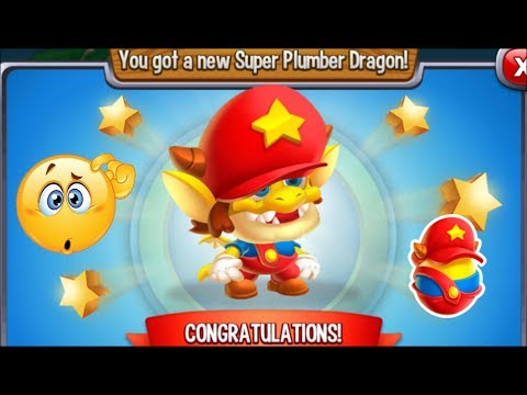 Dragon City - Super Plumber Dragon [Video Game Island | Walkthrough Completed]