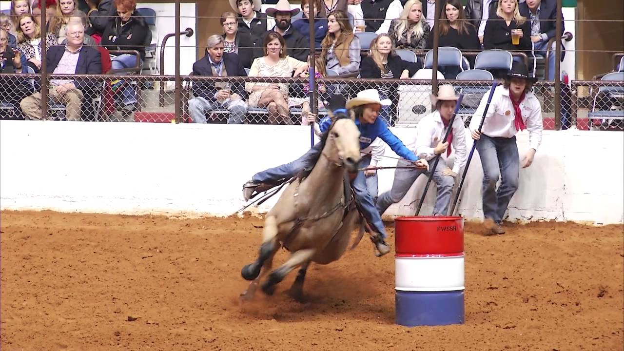 Mary Burger Barrel Racing Fort Worth Stock Show Amp Rodeo