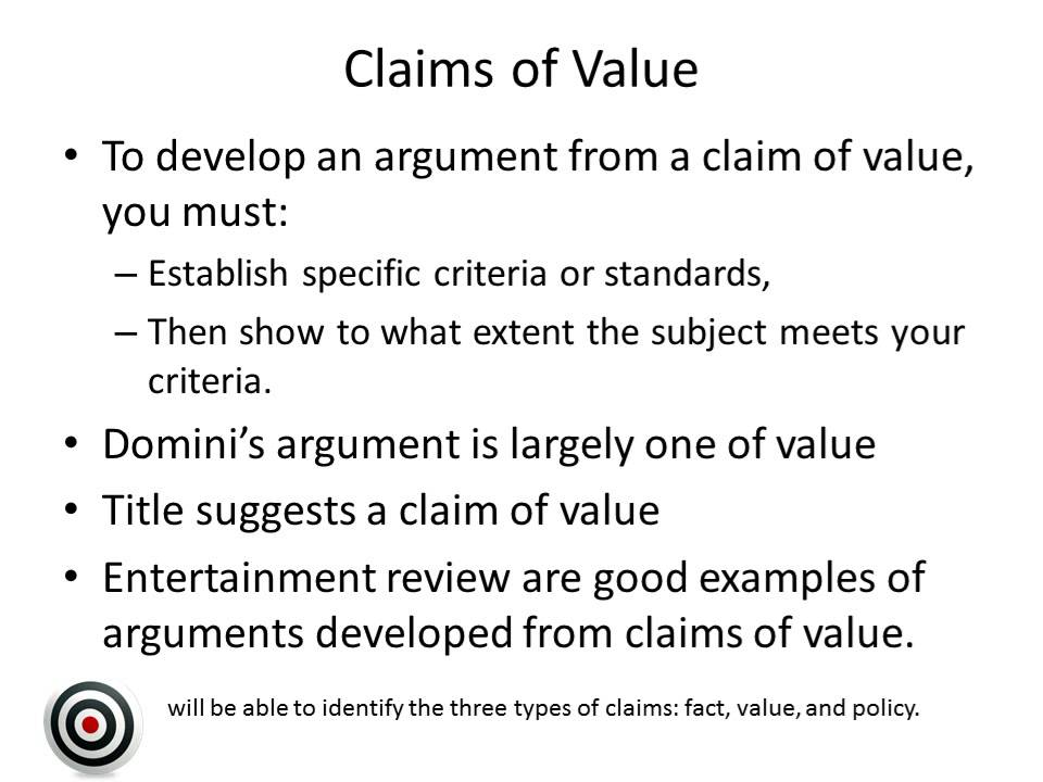 claim of fact Learning competencies : 1 identifies claims explicitly or implicitly made in a written text a claim of fact b claim of policy c claim of value let's play fact bluff the philippines is the world's number one producer of coconut fact bluff the philippines is the world's number one producer of coconut fact.