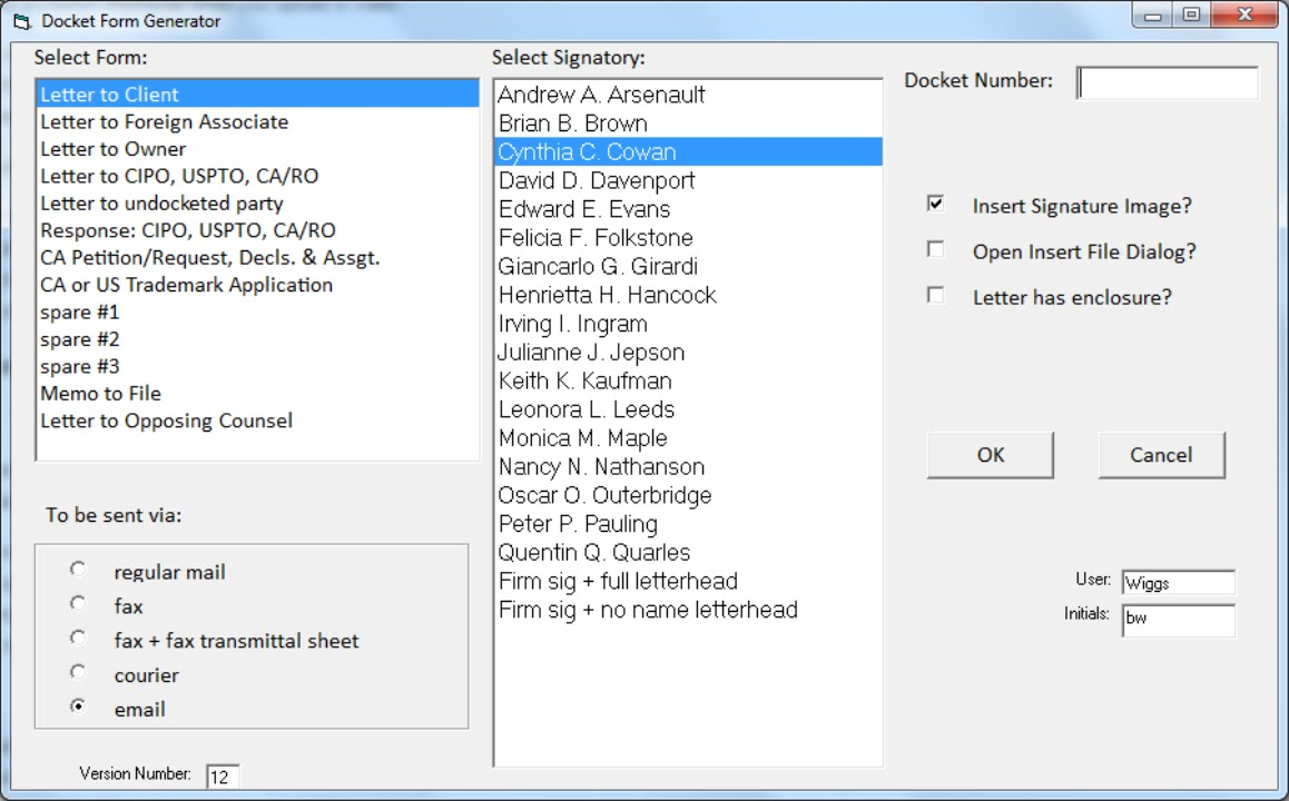 forms generator for cpi docket systems demo forms generator for cpi docket systems demo