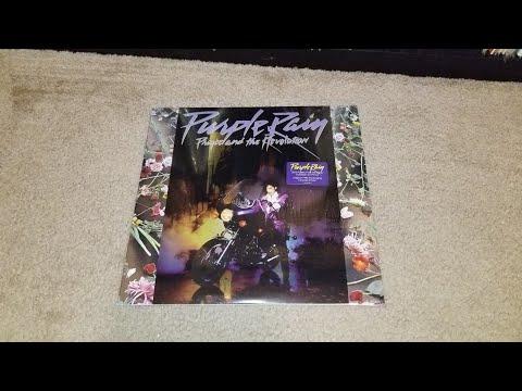 Unboxing: Prince and the Revolution - Purple Rain Vinyl LP (Paisley Park Remaster 547450-1)
