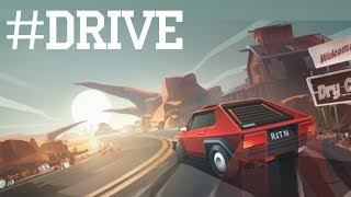 #DRIVE - endless driving videogame | Gameplay / Видео