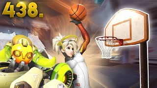 BEST Mercy Dunk!! | Overwatch Daily Moments Ep.438 (Funny and Random Moments)