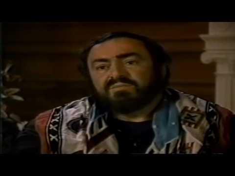 Luciano Pavarotti - Lifestyle - 1989