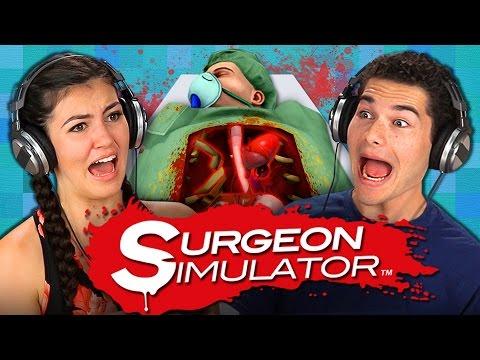 SURGEON SIMULATOR CO-OP REACT: Gaming