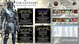 ESO PvE Magic Nightblade Tank for One Tamriel the Catalyst