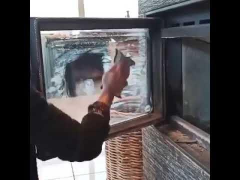 Nettoyage vitre avec Magic Fibre