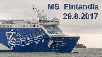 Helsinki - Tallinn: On board Eckerö Line - MS Finlandia